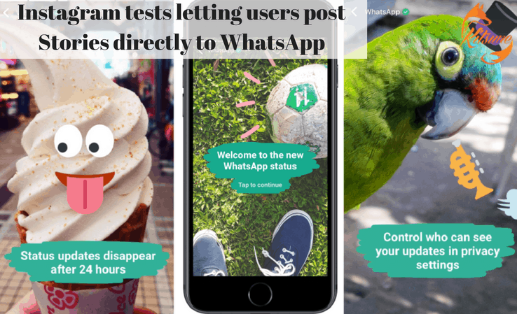 Instagram tests letting users post Stories directly to WhatsApp