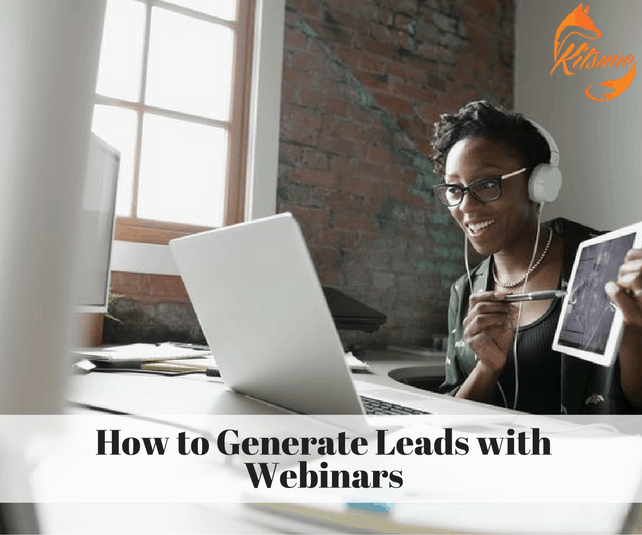 How to Generate Leads with Webinars