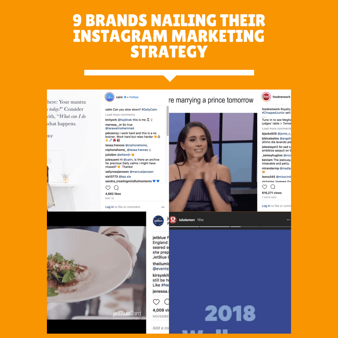 9 Brands Nailing their Instagram Marketing Strategy